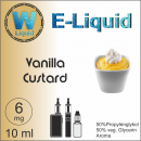 E-Liquid - Vanillesoße - 6mg / 10ml